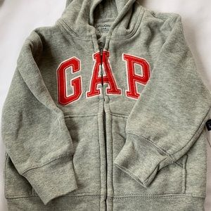 Baby gap hooded sweatshirt full zip